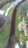 Instalace zavlažování v založené zahradě
