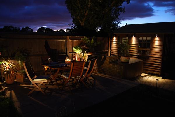 Zahradní osvětlení LED 12 V